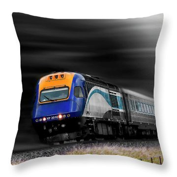 On The Move 01 Throw Pillow
