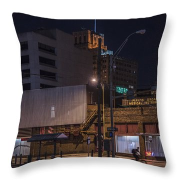 On The Move Throw Pillow