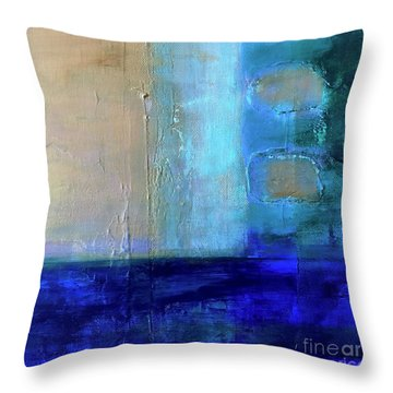 On The Right Side Throw Pillow
