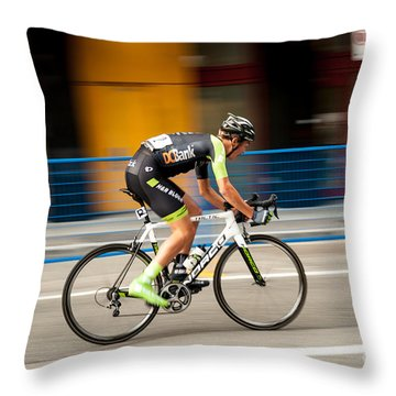 On The Road To Victory. Throw Pillow