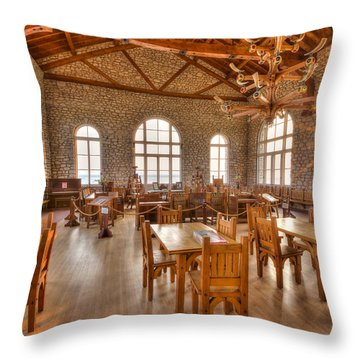 Throw Pillow featuring the photograph On The Rocks by Paul Schultz