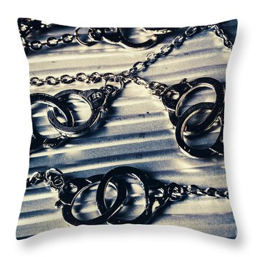 On The Sealed Indictment Case Throw Pillow