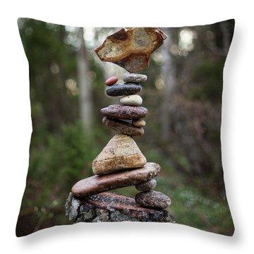 On The Stump Throw Pillow