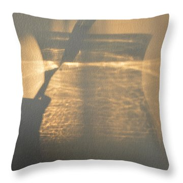 On The Wall  Throw Pillow by Lyle Crump