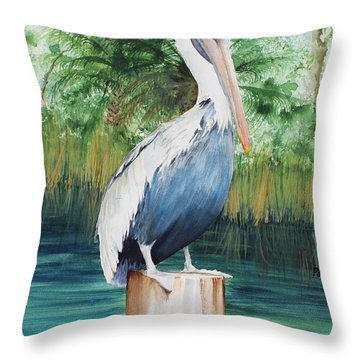 On The Watchtower Throw Pillow