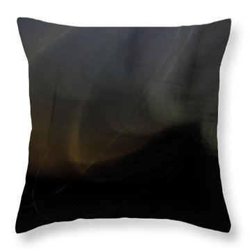 On The Waves Throw Pillow
