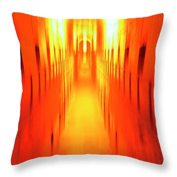 Throw Pillow featuring the photograph On The Way To Death Row by Paul W Faust - Impressions of Light