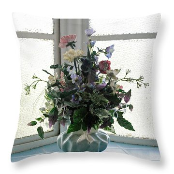 On The Window Throw Pillow