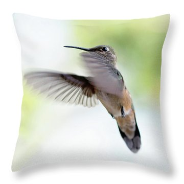 On The Wing 2 Throw Pillow