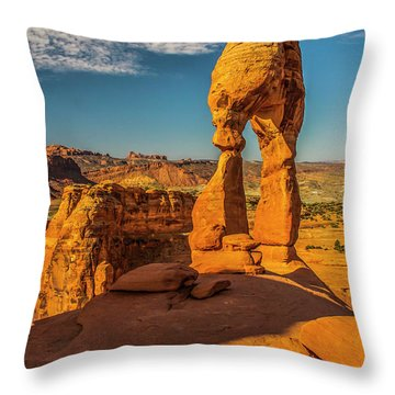On This New Morning Throw Pillow