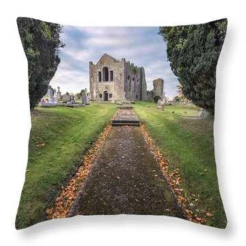 On To Forever Throw Pillow