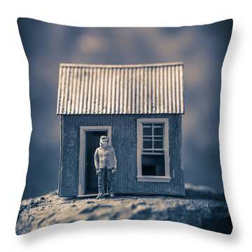 Throw Pillow featuring the photograph On Top Of Old Smokey by Edward Fielding