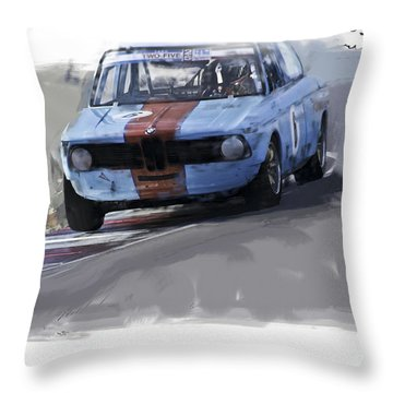 On Track 2002 Throw Pillow