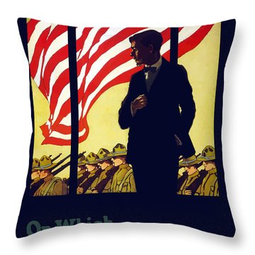 On Which Side Of The Window Are You Throw Pillow