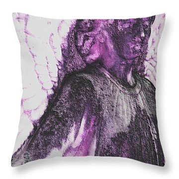 On Wings Of Light Throw Pillow