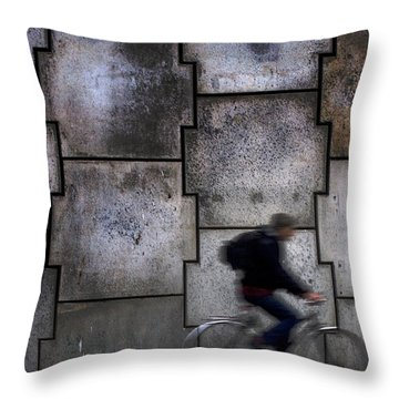 On Your Bike. Throw Pillow