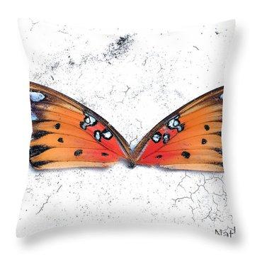 Once Flown Throw Pillow