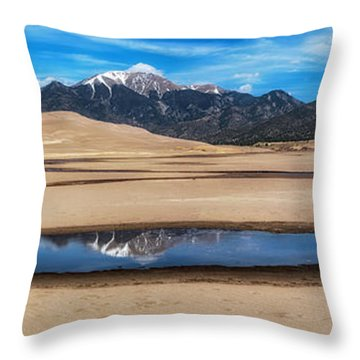Throw Pillow featuring the photograph Once In A Lifetime  by Bitter Buffalo Photography