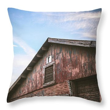 Throw Pillow featuring the photograph Once Industrial - Series 1 by Trish Mistric