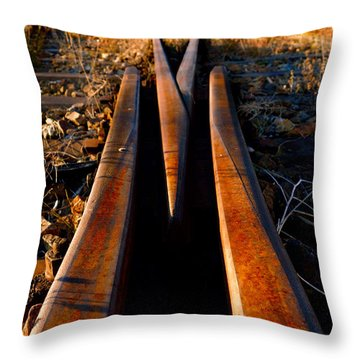 Once There Was A Way Throw Pillow