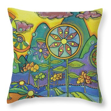 Once Upon A Dream Throw Pillow by Tanielle Childers