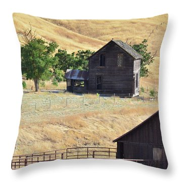 Once Upon A Homestead Throw Pillow