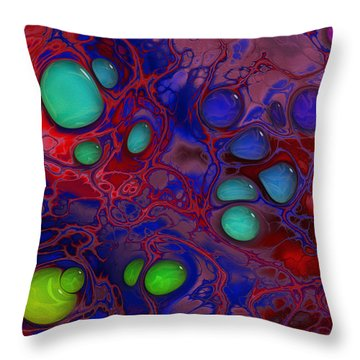 Once Upon A Mind Throw Pillow