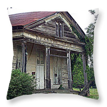 Once Upon A Store Throw Pillow