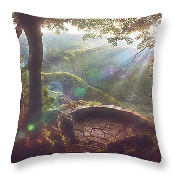 Throw Pillow featuring the photograph Ever After by Jessica Brawley
