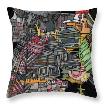 Once Upon A Time Throw Pillow by Sandra Church