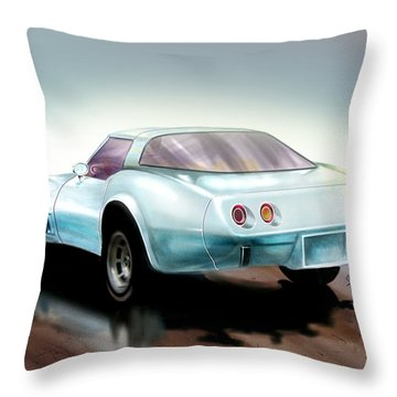 Once You Have Owned A Vette... Throw Pillow