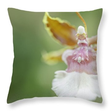 Oncidium Surprise Throw Pillow