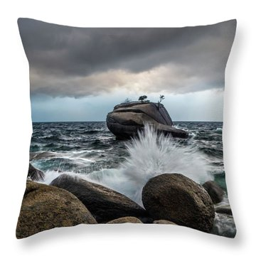 Oncoming Storm Throw Pillow