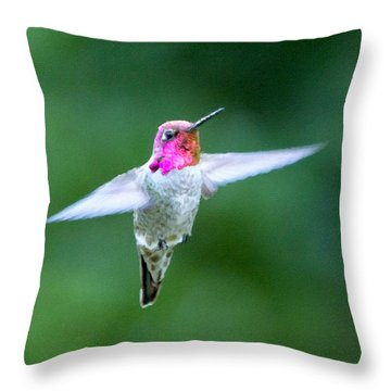 One Beauty Throw Pillow by David Millenheft