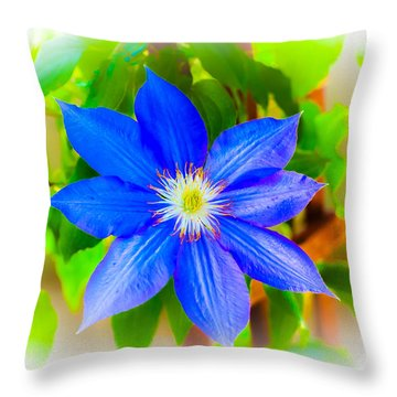 One Bloom - Pla226 Throw Pillow