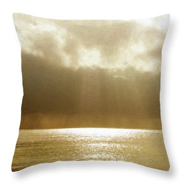 One Boat Throw Pillow