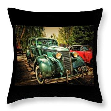 One Cool 1937 Studebaker Sedan Throw Pillow