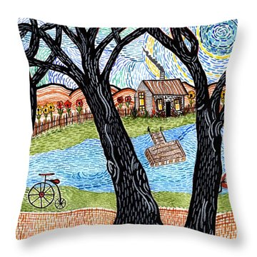 One Country Home Throw Pillow