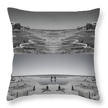One Day Throw Pillow by Betsy Knapp