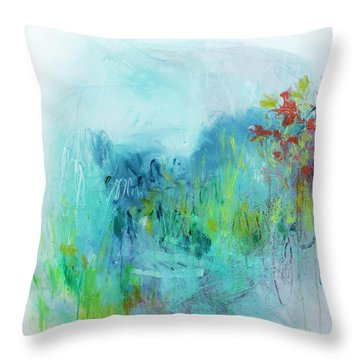 One Day I Remembered Throw Pillow