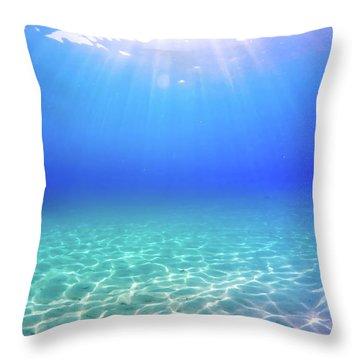 Underwater Throw Pillows