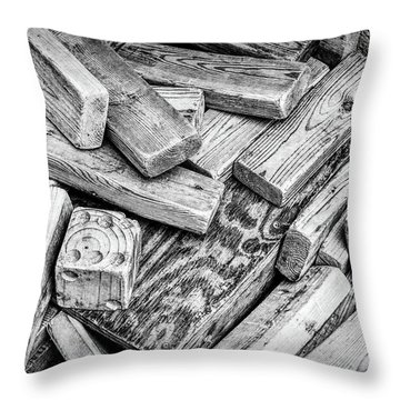 One Die Throw Pillow