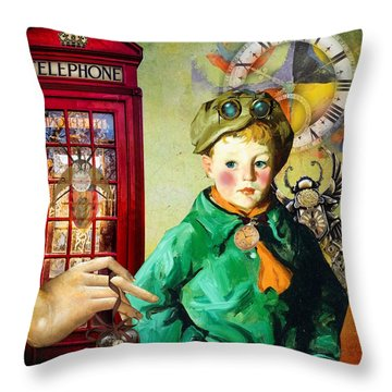 One Enchanted Moment Throw Pillow