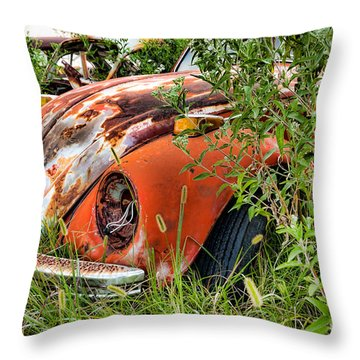 One Eyed Bug Throw Pillow