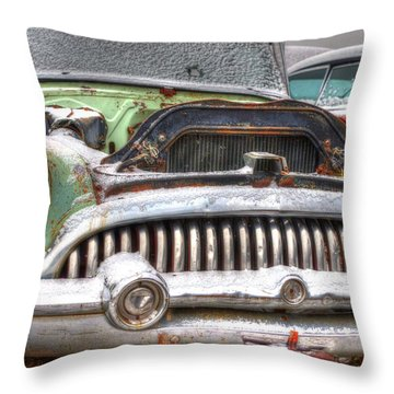 One Eyed Willie Throw Pillow