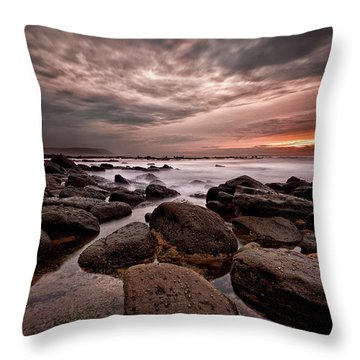 One Final Moment Throw Pillow by Jorge Maia
