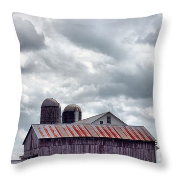 One Fine Cloudy Day  Throw Pillow
