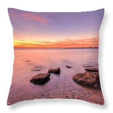One Fine Morning Throw Pillow