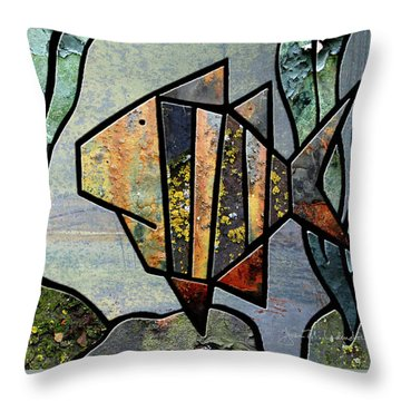 One Fish Throw Pillow