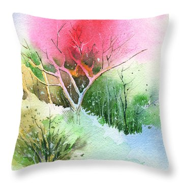 One For My Master Throw Pillow by Anil Nene